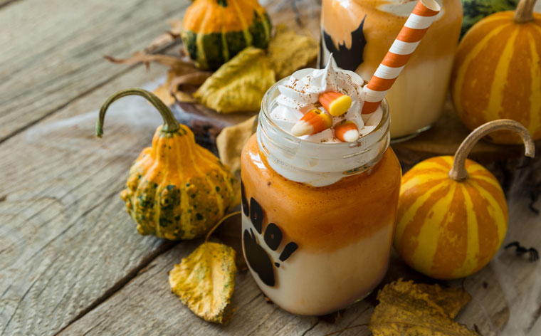 The Perfect Halloween Pumpkin Spice Mocha Latte